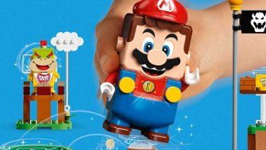"""レゴ(LEGO)×任天堂スーパーマリオ """"ぼうけんのはじまり~スターターセット""""と拡張セット 8/1(土)発売!"""