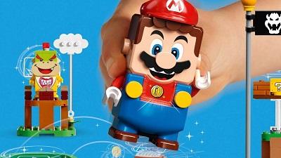 """レゴ(LEGO)×任天堂のスーパーマリオ """"ぼうけんのはじまり~スターターセット""""8/1(土)発売!"""