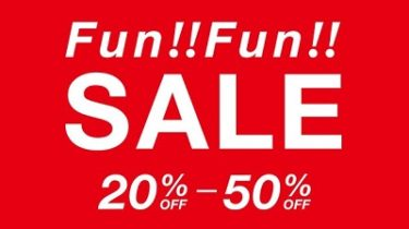 フランフラン( Francfranc) Fun!Fun!セール 6/19(金)スタート!