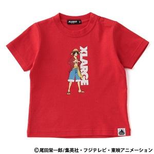 「 XLARGE KIDS × ONEPIECE(エクストララージキッズ×ワンピース) 」ロゴプリントT発売!
