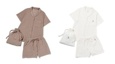 【オンライン限定】 ジェラートピケ(gelato pique)『パイルベアシャツ&ショートパンツ&巾着SET』発売!