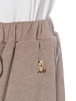 【オンライン限定】ジェラートピケ(gelato pique)『パイルベアシャツ&ショートパンツ&巾着SET』発売!