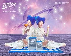 <Ziploc® × DEAN & DELUCA × BEAMS COUTURE>クーラーバッグが8/7(金)発売!