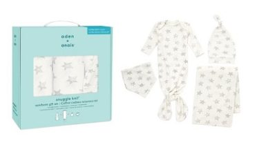 aden+anais(エイデンアンドアネイ)新コレクション「Snuggle Knit(スナグルニット)」8/11(火)発売!