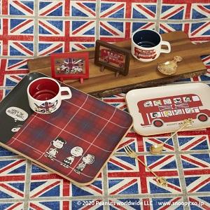"""『ピーナッツ×アフタヌーンティー (PEANUT×Afternoon Tea LIVING)』 """"SNOOPY IN LONDON"""" 9/23(水)発売!"""