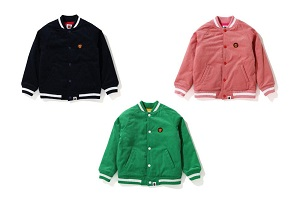 "BAPE KIDS®(ベイプキッズ) ""BABY MILO® EMBROIDERY JACKET ""が9/5(土)発売!"