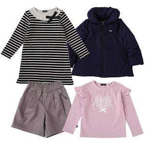 【子供服の福袋2021】- BEBE(ベベ) 10/30(金)予約受付スタート!