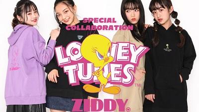『べべ(BeBe)』のジュニアブランド「ZIDDY/ジディー」「RADCUSTOM/ラッドカスタム」が、アメリカの人気アニメシリーズ「LOONEY TUNES(ルーニーテューンズ)」とコラボ♡