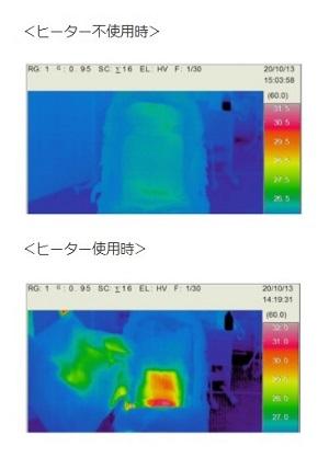 ヒーター付きベビーカーシート「ほっとスマイルS-909」新発売!