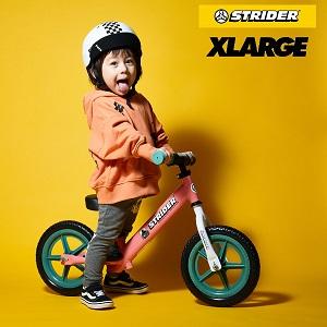 """「STRIDER×XLARGE×ムラサキスポーツ」""""ストライダーのムラサキスポーツ限定モデル""""11/20(金)発売!"""