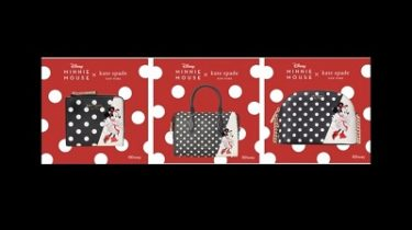 【ケイト・スペードニューヨーク】disney x kate spade new new york minnie mouse collection