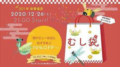 【子供服の福袋2021】-インセクトコレクション(Insect Collection) 12/26(土)発売!