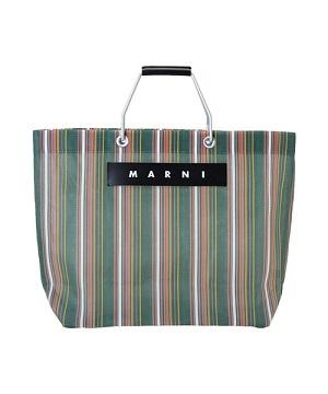 MARNI FLOWER CAFE(マルニ フラワー カフェ) 「ストライプバッグ」阪急百貨店オンラインストア 2/19(金)発売!