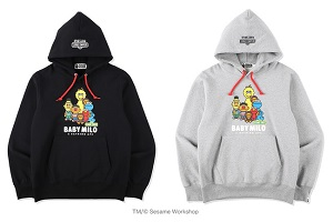 【BAPE® × SESAME STREET】コラボアイテム2/27(土)発売!