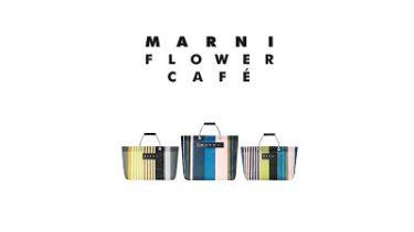 MARNI FLOWER CAFE(マルニ フラワー カフェ) 「ストライプバッグ」阪急オンライン2/19(金)発売!