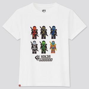 【ユニクロUT×レゴ® ニンジャゴー®】4/5 (月)発売!