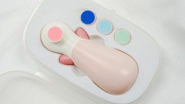 【ちゃいなび】赤ちゃんのネイルケアセット「アンジュスマイル 電動爪やすり ANC-01」発売