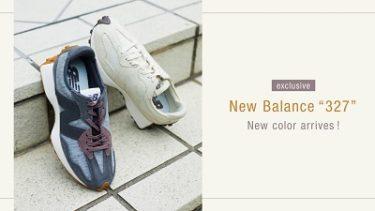 "【New Balance】WS327 ""emmi exclusive model"""